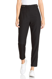 Emerge Tapered Button Detail Pant - 223461