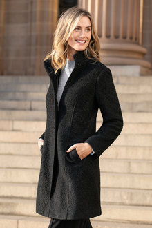 Capture Boucle Coat