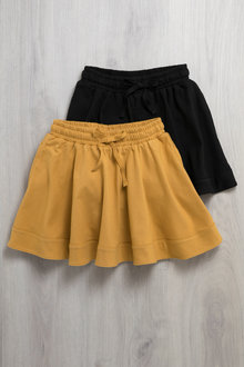 Pumpkin Patch Skirt with Tie Waist - 223466