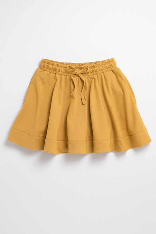 Pumpkin Patch Skirt with Tie Waist