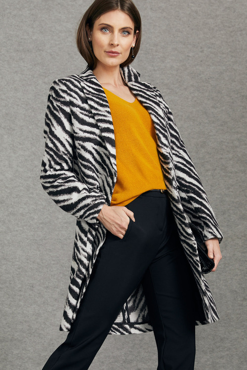 Grace Hill Jacquard Coat