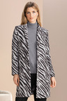 Grace Hill Jacquard Coat