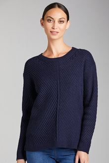 Emerge Rib Detail Sweater