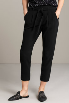 Emerge Tie Waist Soft Tailored Pant
