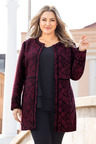 Sara Patterned Coat