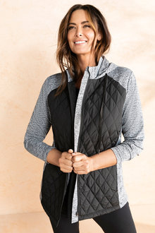 Plus Size - Sara Active Quilted Jacket