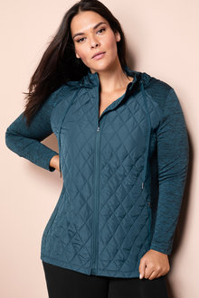 6773df32d6c Plus Size - Sara Active Quilted Jacket