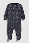 Next Bunny Embroidered Sleepsuits Three Pack (0mths-2yrs)