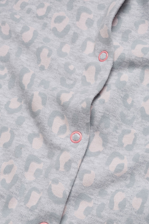 Next Cat Print Sleepsuits Three Pack (0mths-2yrs)