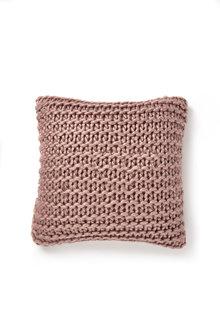 Hand Knit Acrylic Cushion - 223509
