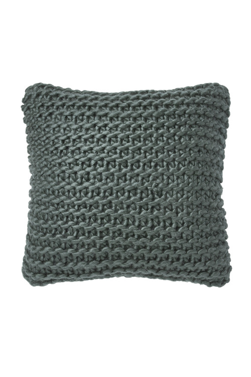 Hand Knit Acrylic Cushion