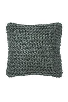 Hand Knit Acrylic Cushion