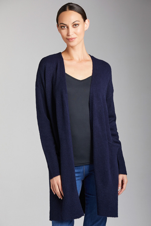 Emerge Longline Cozy Pocket Cardigan