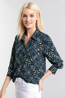 Emerge Popover Long Sleeve Shirt - 223520