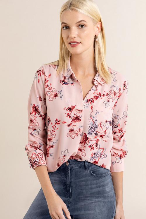 Emerge Popover Long Sleeve Shirt