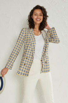 Emerge Double Breasted Blazer - 223522