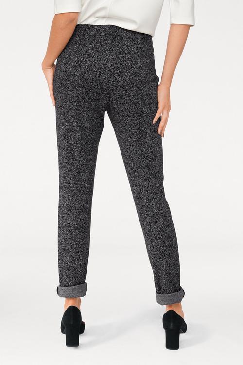 Heine Slim Fit Button Trouser