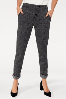 Heine Slim Fit Button Trouser