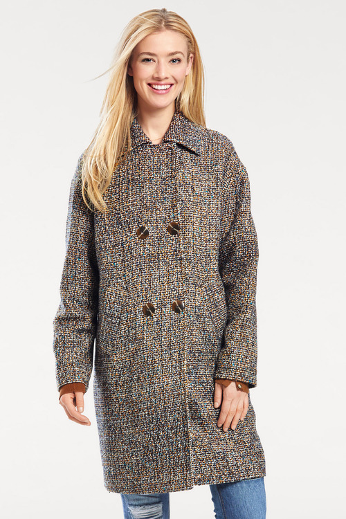 Urban Boucle Coat