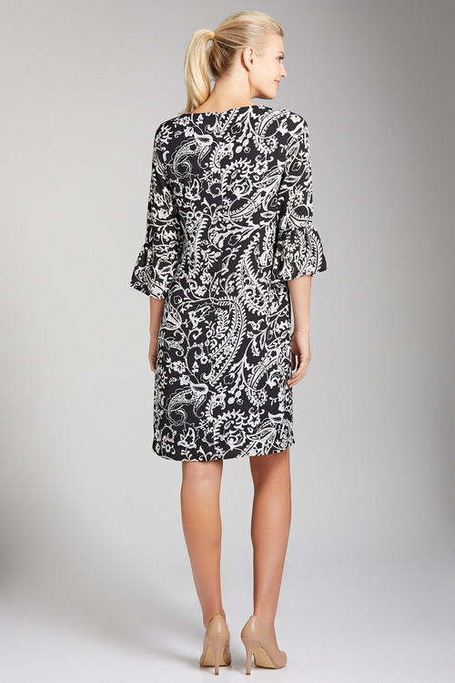 Capture 3/4 Sleeve Dress