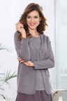Euro Edit Knitted Cardi and Top Twin Set