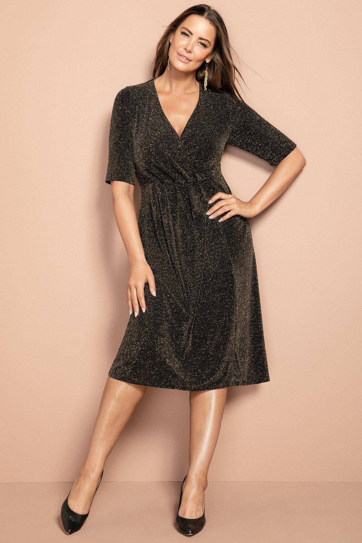 19b645f7 Sara Sparkle Knit Dress Online | Shop EziBuy