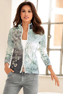Urban Multiprint Shirt Jacket