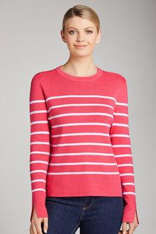 Urban Striped Pullover - 223573