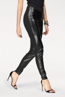 Urban Faux Leather Front Pant - 223576