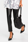 Urban Faux Leather Front Pant