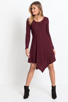 Urban Trapeze Hem Dress - 223579