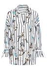 Urban Stripy Oversize Shirt