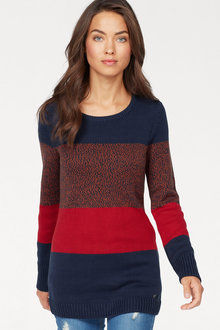 Urban Colour Block Jumper