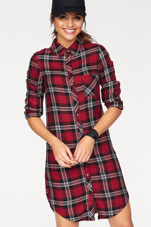 Urban Check Shirt Dress