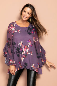 Plus Size - Sara Statement Tunic