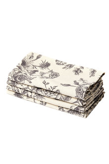 Cafe Napkins Set of Four