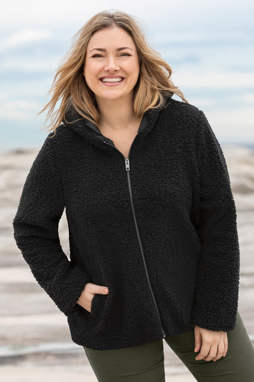 Plus Size - Sara Sherpa Jacket