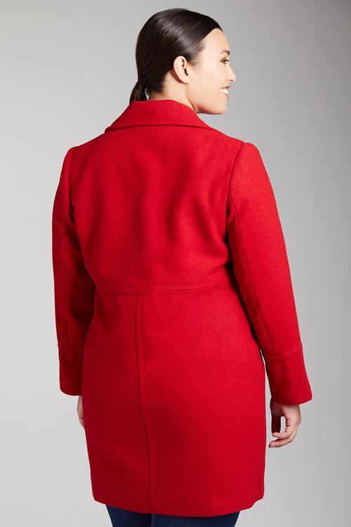Plus Size - Sara Classic Coat