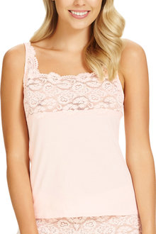 Perfects Perfects Cotton & Lace Cami