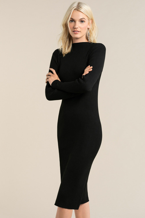 Emerge High Neck Knitwear Dress