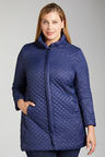 Plus Size - Sara Longline Quilted Jacket