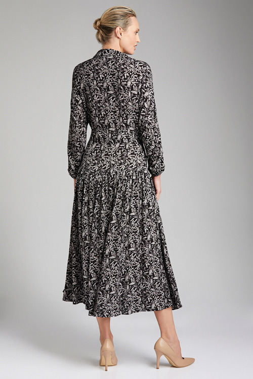 Grace Hill Printed Shirt Dress