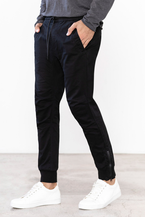 Mens Elasticated Chino