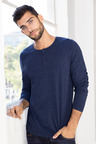 Men's 1/2 Placket Top
