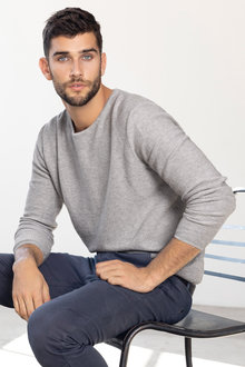 Mens Crew Neck Sweater - 223700