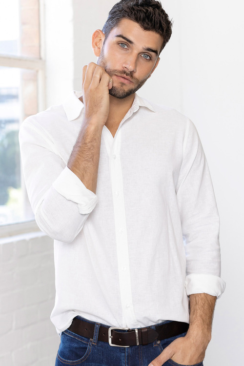 Jimmy+James Men's Linen Shirt