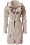 Heine Frill Collar Showerproof Coat