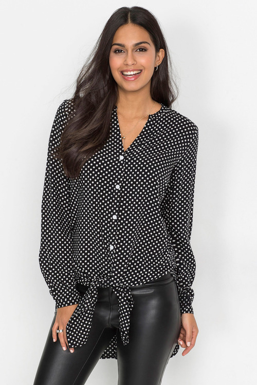 Urban Polka Dot Shirt