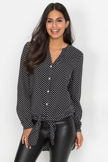 Urban Polka Dot Shirt - 223716