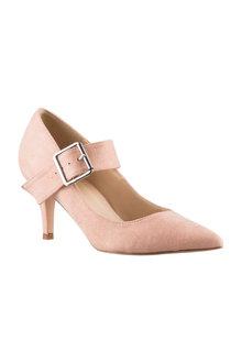Plus Size - Sara Wide Fit Waldon Court Heel